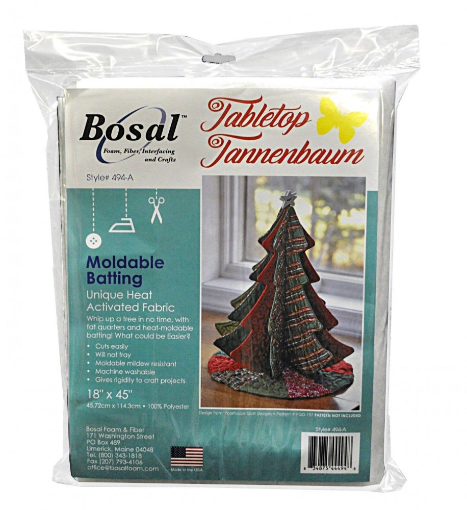 Bosal Tabletop Tannenbaum Heat Activated Moldable Batting